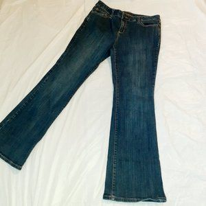The Limited Jeans Dark Wash Flares Size 12R